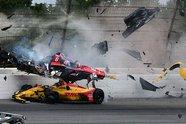 IndyCar: Horror-Unfall von Robert Wickens in Pocono - IndyCar 2018, Pocono, Long Pond, Pennsylvania, Bild: LAT Images