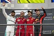 Podium - Formel 1 2018, Belgien GP, Spa-Francorchamps, Bild: Sutton