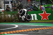 Horror-Crash von Marcus Ericsson - Formel 1 2018, Italien GP, Monza, Bild: Sutton