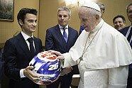 MotoGP-Piloten besuchen den Papst - MotoGP 2018, Verschiedenes, San Marino GP, Misano Adriatico, Bild: MotoGP