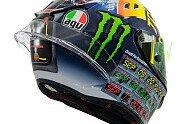 Valentino Rossi: Misano-Helm im Design von Zurück in die Zukunft - MotoGP 2018, Verschiedenes, San Marino GP, Misano Adriatico, Bild: AGV Helmets