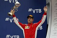 Podium - Formel 1 2018, Russland GP, Sochi, Bild: Sutton