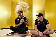 Ricciardo und Verstappen lernen die Shodo-Kunst - Formel 1 2018, Japan GP, Suzuka, Bild: Red Bull