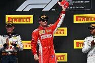Podium - Formel 1 2018, USA GP, Austin, Bild: Sutton