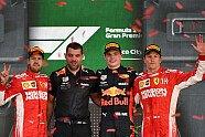 Podium - Formel 1 2018, Mexiko GP, Mexiko Stadt, Bild: Sutton