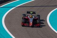 Mick Schumacher: Formel-2-Testfahrten in Abu Dhabi - Formel 2 2018, Testfahrten, Bild: Mick Schumacher/Twitter