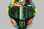 Valentino Rossi: Das ist sein Winterhelm für die MotoGP-Tests - MotoGP 2019, Verschiedenes, Bild: Dainese/AGV