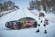 Mattias Ekström fährt legendäre Streif im Elektro-Audi hoch - Auto 2019, Verschiedenes, Bild: Audi AG