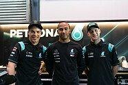 MotoGP Katar 2019: Lewis Hamilton zu Gast bei Petronas-Yamaha - MotoGP 2019, Katar GP, Losail, Bild: Petronas