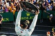 Podium - Formel 1 2019, Australien GP, Melbourne, Bild: LAT Images