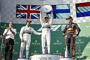 Podium - Formel 1 2019, Australien GP, Melbourne, Bild: Mercedes-Benz