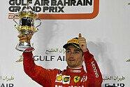 Podium - Formel 1 2019, Bahrain GP, Sakhir, Bild: LAT Images
