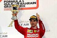 Podium - Formel 1 2019, Bahrain GP, Sakhir, Bild: Ferrari