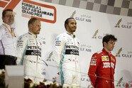 Podium - Formel 1 2019, Bahrain GP, Sakhir, Bild: Mercedes-Benz