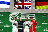 Podium - Formel 1 2019, China GP, Shanghai, Bild: LAT Images