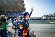 Formel 1: Verstappen & Gasly heizen Zandvoort im Red Bull ein - Formel 1 2019, Verschiedenes, Bild: Red Bull Content Pool