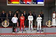 Podium - Formel 1 2019, Monaco GP, Monaco, Bild: LAT Images