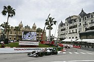 Duell Hamilton vs. Verstappen - Formel 1 2019, Monaco GP, Monaco, Bild: LAT Images