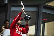 Podium - Formel 1 2019, Monaco GP, Monaco, Bild: Ferrari