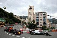 Duell Hamilton vs. Verstappen - Formel 1 2019, Monaco GP, Monaco, Bild: Red Bull