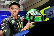 MotoGP: Valentino Rossis neues Helm-Design für Mugello - MotoGP 2019, Verschiedenes, Bild: Dainese