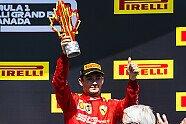 Podium - Formel 1 2019, Kanada GP, Montreal, Bild: Ferrari