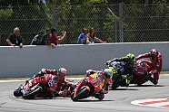 MotoGP Barcelona - Massencrash - MotoGP 2019, Katalonien GP, Barcelona, Bild: LAT Images