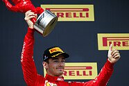 Podium - Formel 1 2019, Frankreich GP, Le Castellet, Bild: LAT Images
