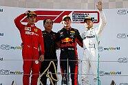 Podium - Formel 1 2019, Österreich GP, Spielberg, Bild: LAT Images