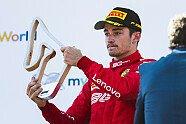 Podium - Formel 1 2019, Österreich GP, Spielberg, Bild: Ferrari