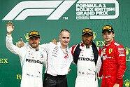 Podium - Formel 1 2019, Großbritannien GP, Silverstone, Bild: LAT Images