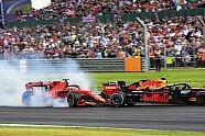 Vettel-Verstappen-Crash - Formel 1 2019, Großbritannien GP, Silverstone, Bild: LAT Images