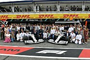 Mercedes feiert mit Retro-Look - Formel 1 2019, Deutschland GP, Hockenheim, Bild: LAT Images