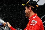 Podium - Formel 1 2019, Deutschland GP, Hockenheim, Bild: Ferrari