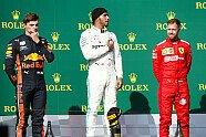 Podium - Formel 1 2019, Ungarn GP, Budapest, Bild: LAT Images
