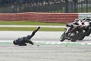 MotoGP: Feuer-Crash Dovizioso vs. Quartararo - MotoGP 2019, Bild: LAT Images