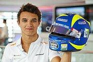 Formel 1: Lando Norris' VR46-Helm für Monza - Formel 1 2019, Verschiedenes, Italien GP, Monza, Bild: LAT Images