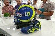 Formel 1: Lando Norris' VR46-Helm für Monza - Formel 1 2019, Verschiedenes, Italien GP, Monza, Bild: Motorsport-Magazin.com