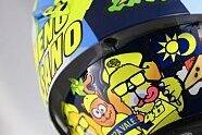 MotoGP: Valentino Rossis Helmdesign für Misano 2019 - MotoGP 2019, Verschiedenes, San Marino GP, Misano Adriatico, Bild: AGV