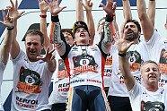 MotoGP Thailand - Die Meisterfeier von Marquez - MotoGP 2019, Thailand GP, Buriram, Bild: LAT Images