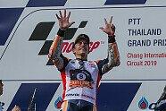 MotoGP Thailand - Die Meisterfeier von Marquez - MotoGP 2019, Thailand GP, Buriram, Bild: Tobias Linke