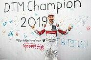 So feiert Rene Rast die Meisterschaft - DTM 2019, Hockenheim II, Hockenheim, Bild: Audi Communications Motorsport