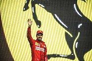 Podium - Formel 1 2019, Mexiko GP, Mexico City, Bild: Ferrari