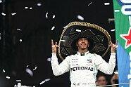 Podium - Formel 1 2019, Mexiko GP, Mexico City, Bild: Mercedes-Benz
