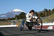 BMW-Ikone Alex Zanardi in Fuji: Vom DTM-Auto aufs Handbike - DTM 2019, Verschiedenes, Bild: BMW Motorsport