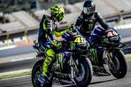 Rossi im Mercedes, Hamilton auf M1: Die besten Bilder vom Tausch - MotoGP 2019, Testfahrten, Bild: Yamaha