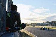 Rossi im Mercedes, Hamilton auf M1: Die besten Bilder vom Tausch - MotoGP 2019, Testfahrten, Bild: Monster Energy
