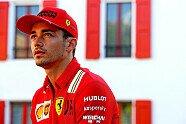 Bildergalerie: Leclerc fährt im F1-Ferrari vom Werk zur Strecke - Formel 1 2020, Verschiedenes, Bild: Ferrari