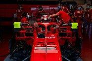 Vettel & Leclerc testen Corona-Abläufe in Mugello - Formel 1 2020, Testfahrten, Bild: Ferrari