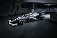 Williams FW43 Lackierung - Formel 1 2020, Präsentationen, Bild: Williams